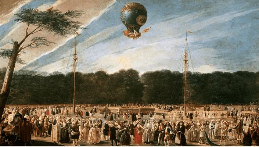 Перший політ на повітряній кулі