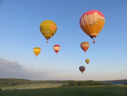 Фотографія повітряна куля