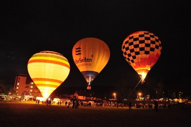 Полет на воздушном шаре в Тернополь