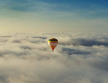 Полет на воздушном шаре в Львов
