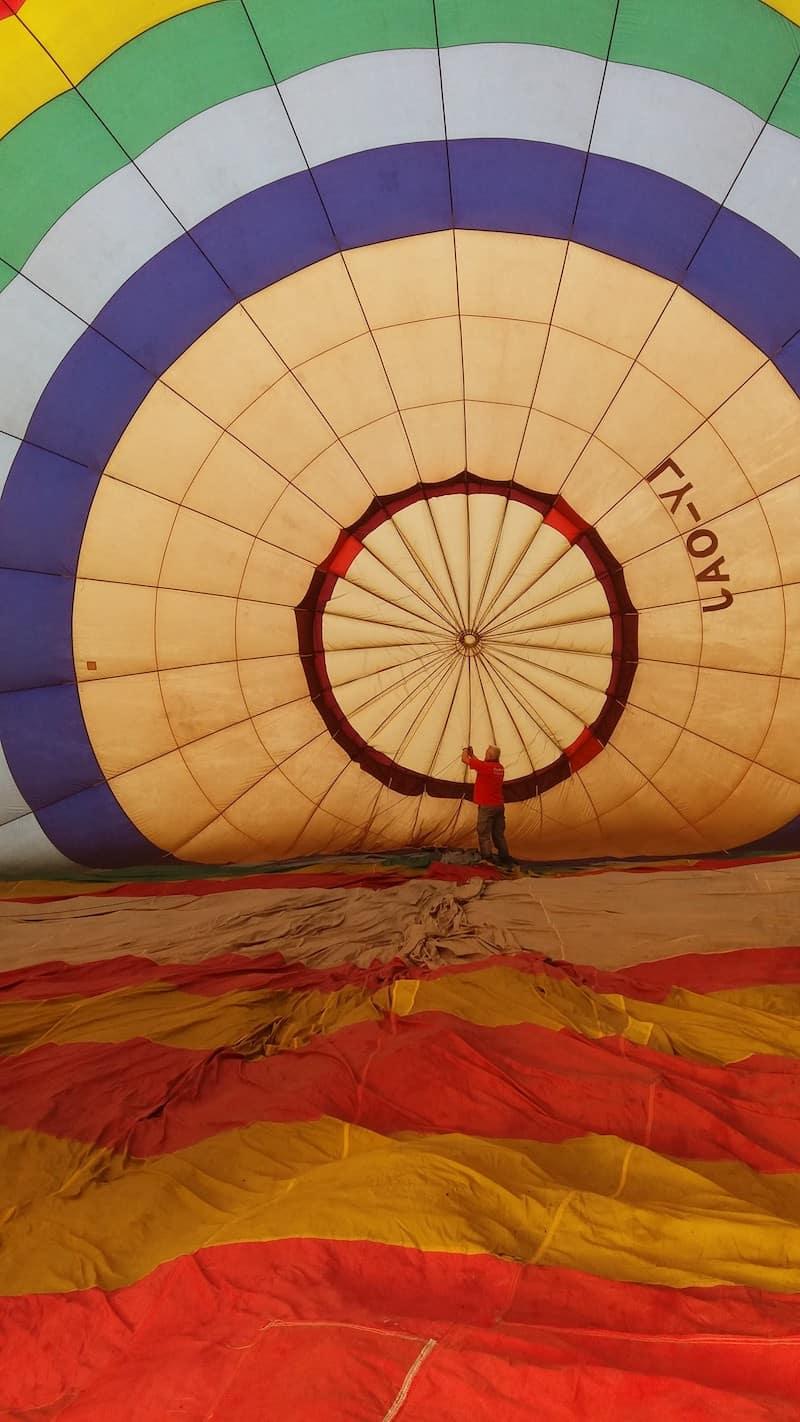 Політ на повітряній кулі в Свірж