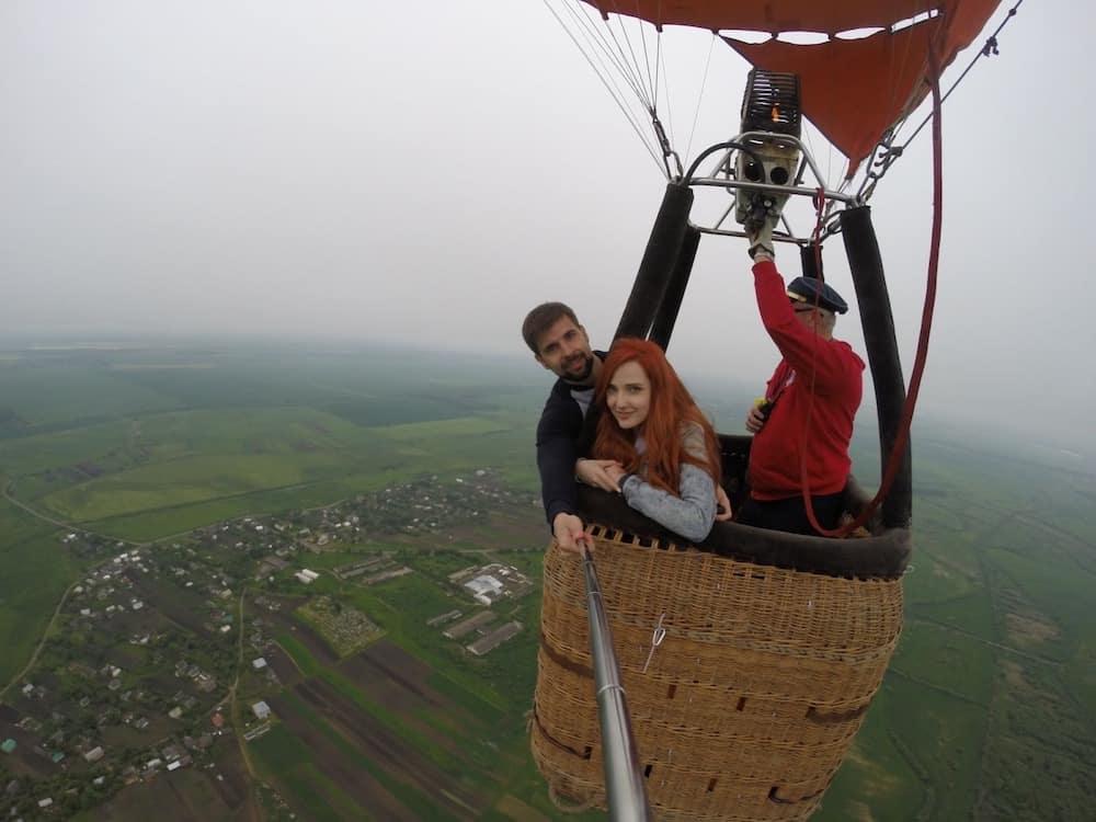 Леофлай політ на повітряній кулі
