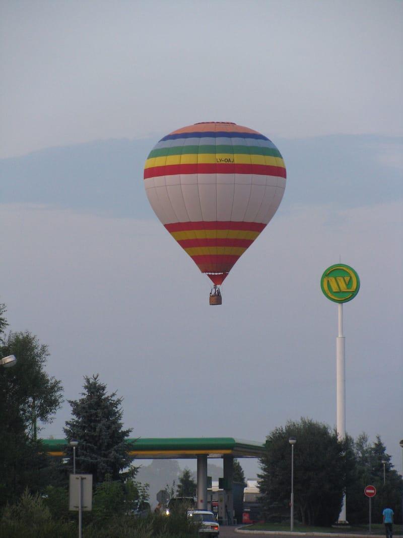 Полет на воздушном шаре в Закарпатье