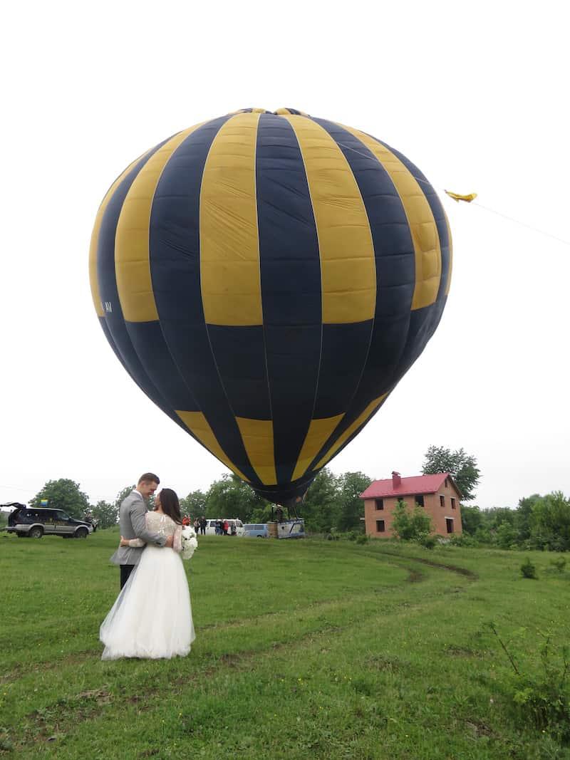 Полет на воздушном шаре в Каменец-Подольский