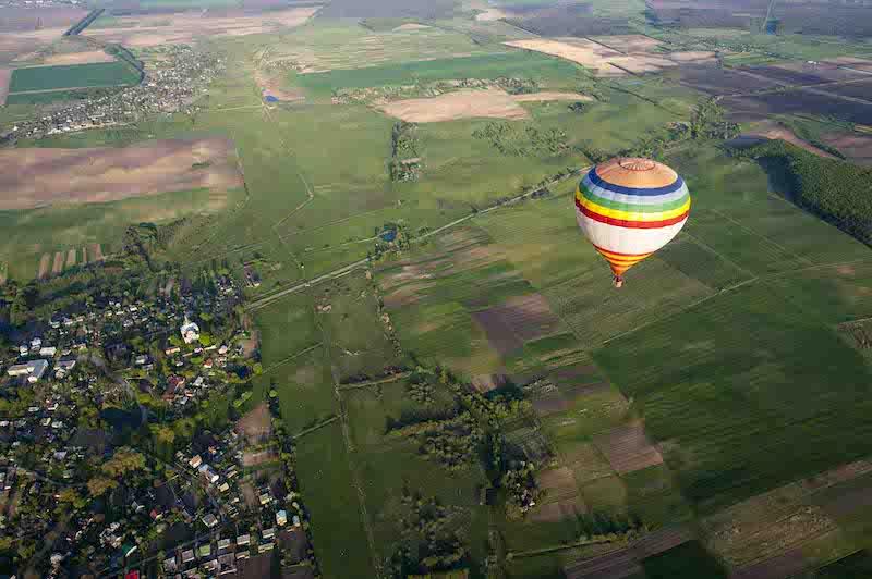 Політ на повітряній кулі в Рівне
