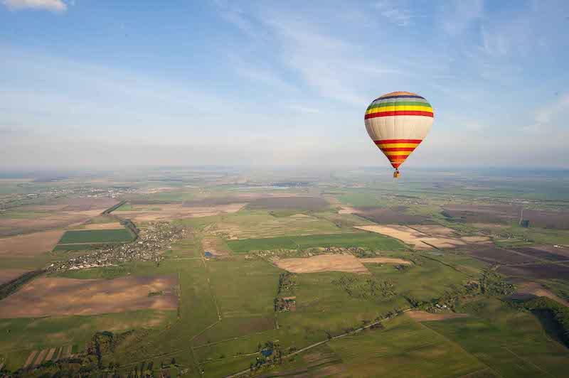 Полет на воздушном шаре в Ивано-Франковск