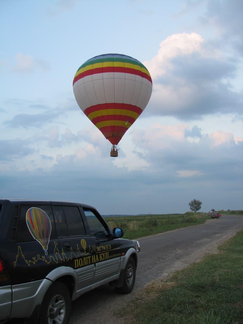 Полет на воздушном шаре в Умань