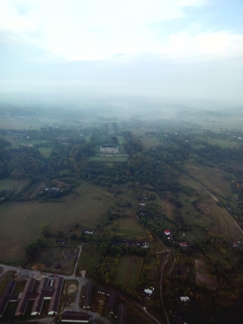 Політ на повітряній кулі в Житомир