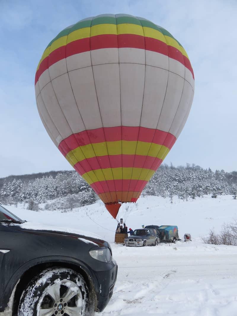 Політ на повітряній кулі в Трускавець