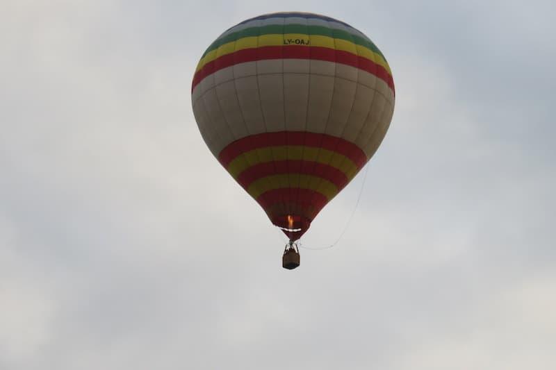 Політ на повітряній кулі в Чернівці