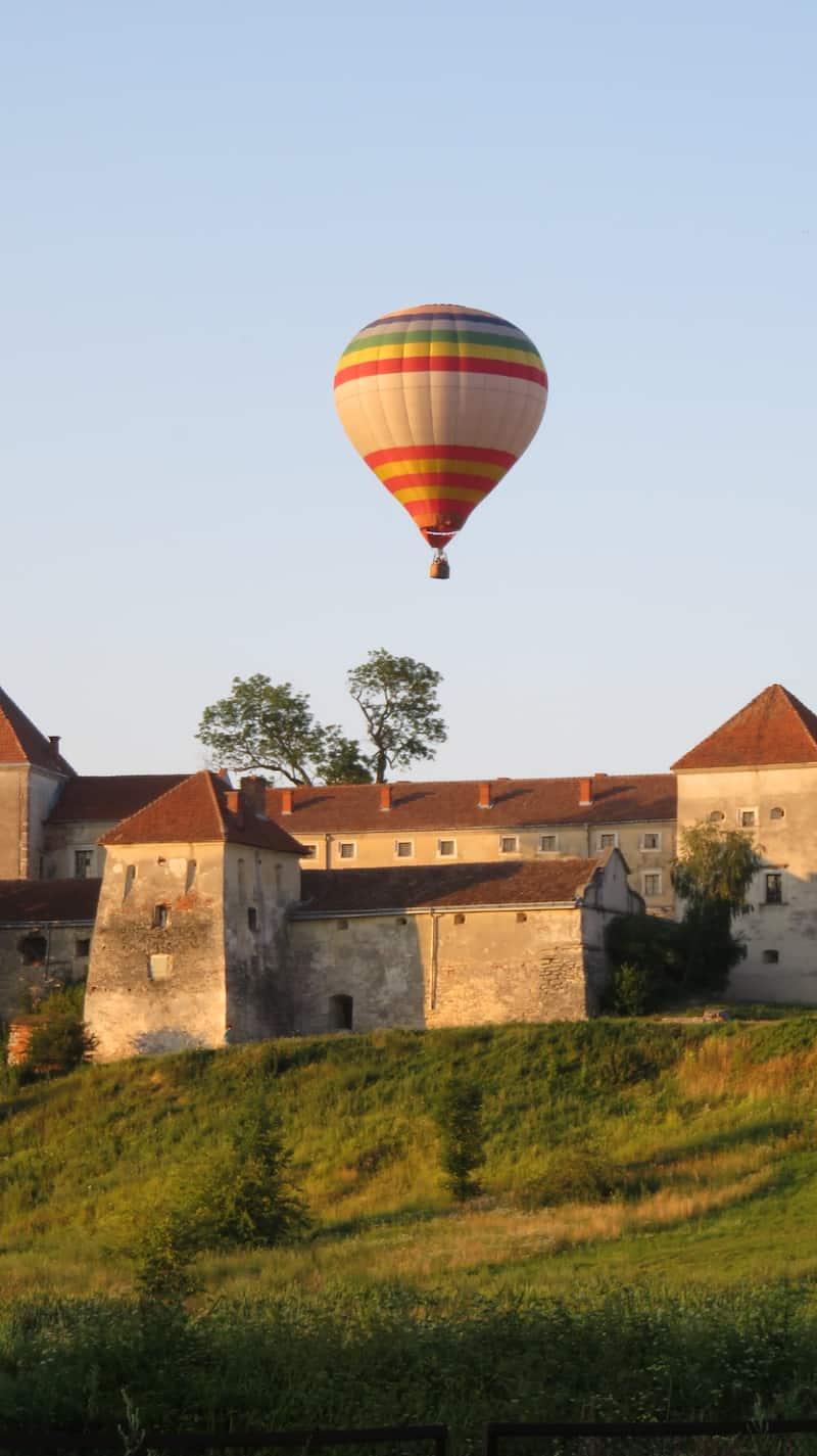 Полет на воздушном шаре в Трускавец