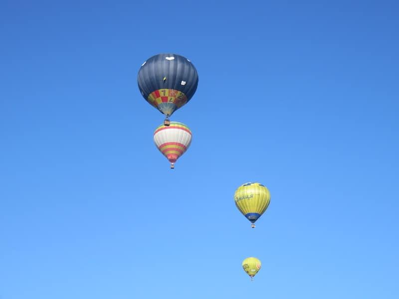 Полет на воздушном шаре в Черновцы