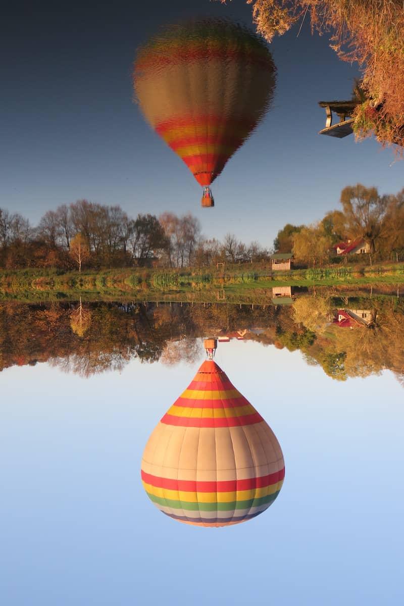 Політ на повітряній кулі в Буковель
