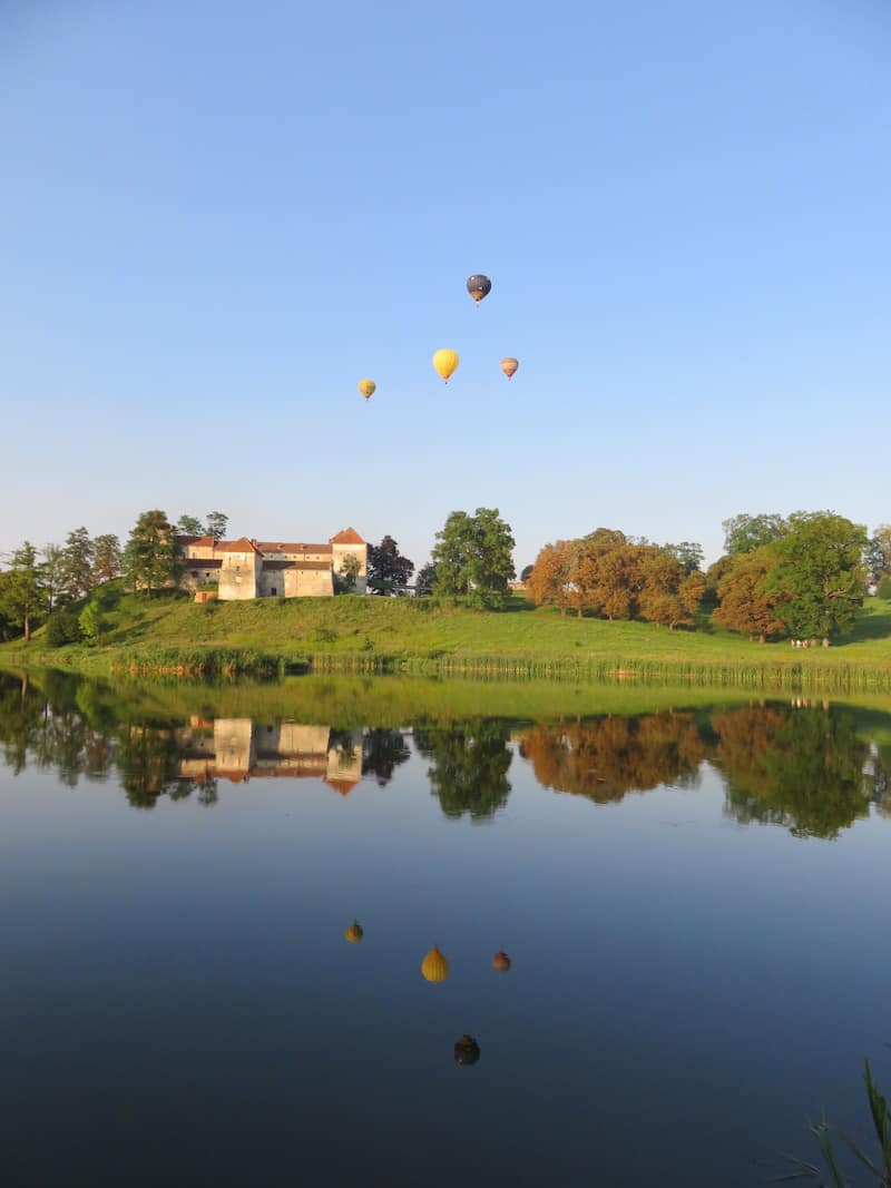 Полет на воздушном шаре в Буковель