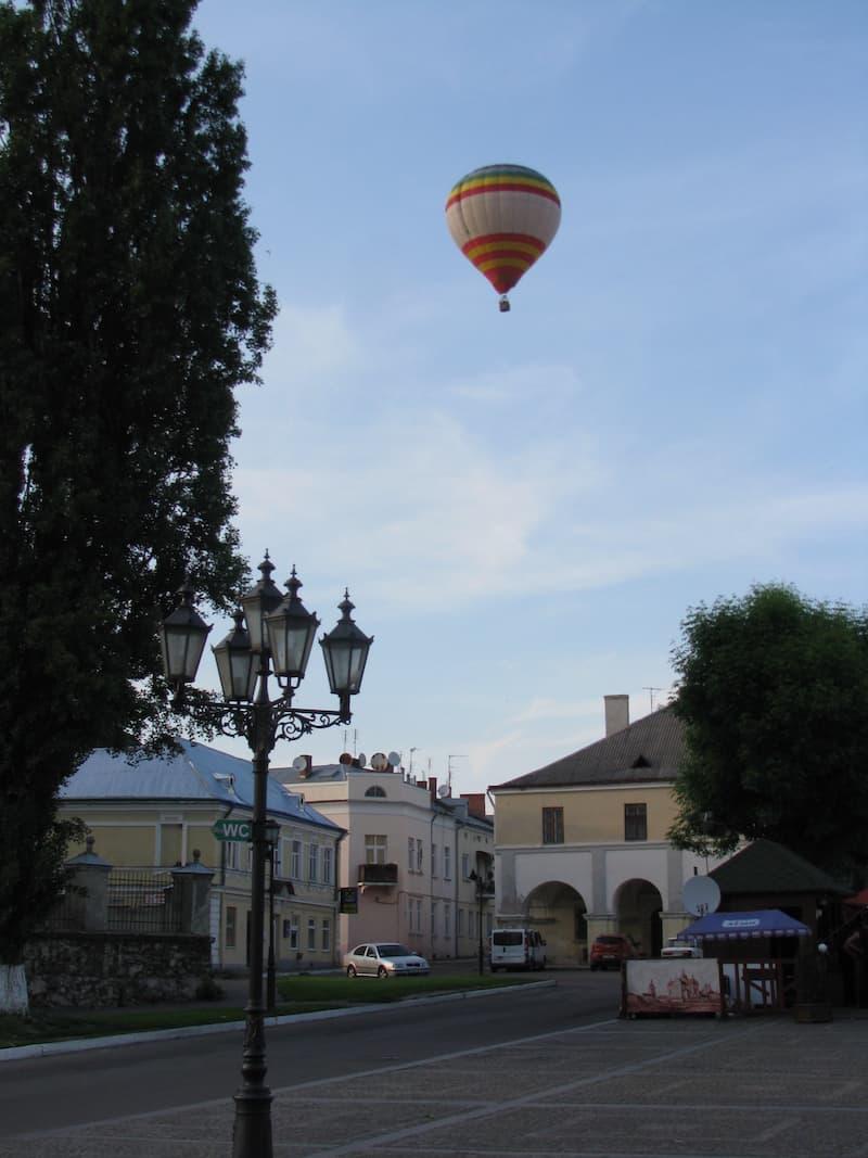 Політ на повітряній кулі в Переяслав