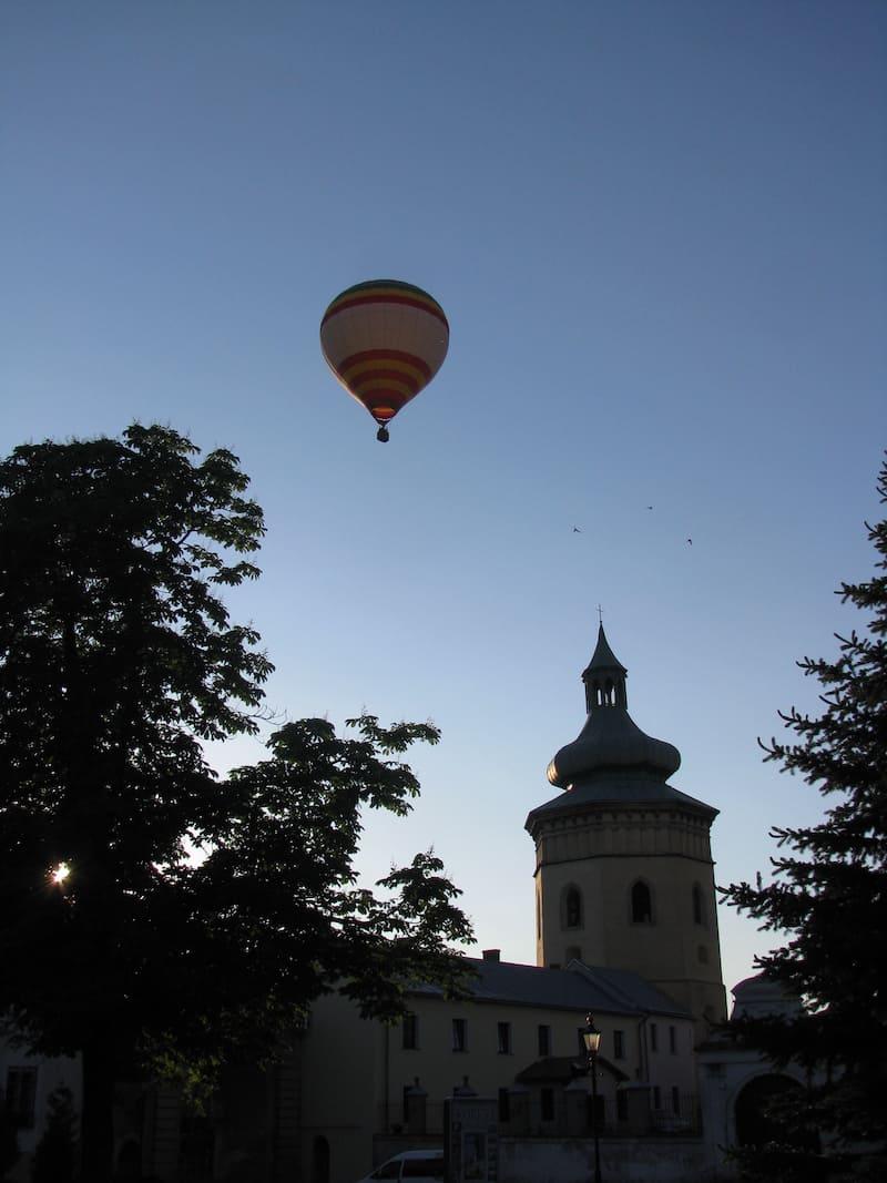 Полет на воздушном шаре в Ровно