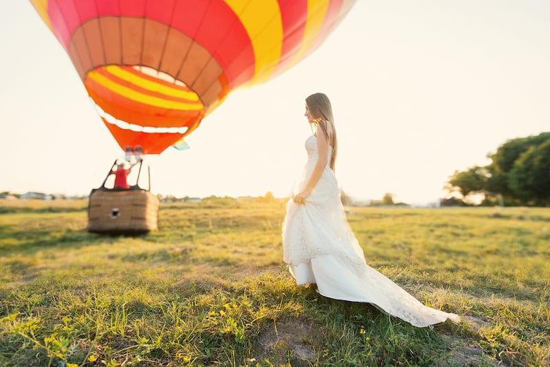 Політ на повітряній кулі в Жовква