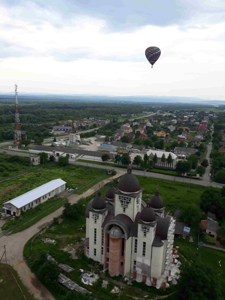 Політ на повітряній кулі в Фотографії на повітряних кулях