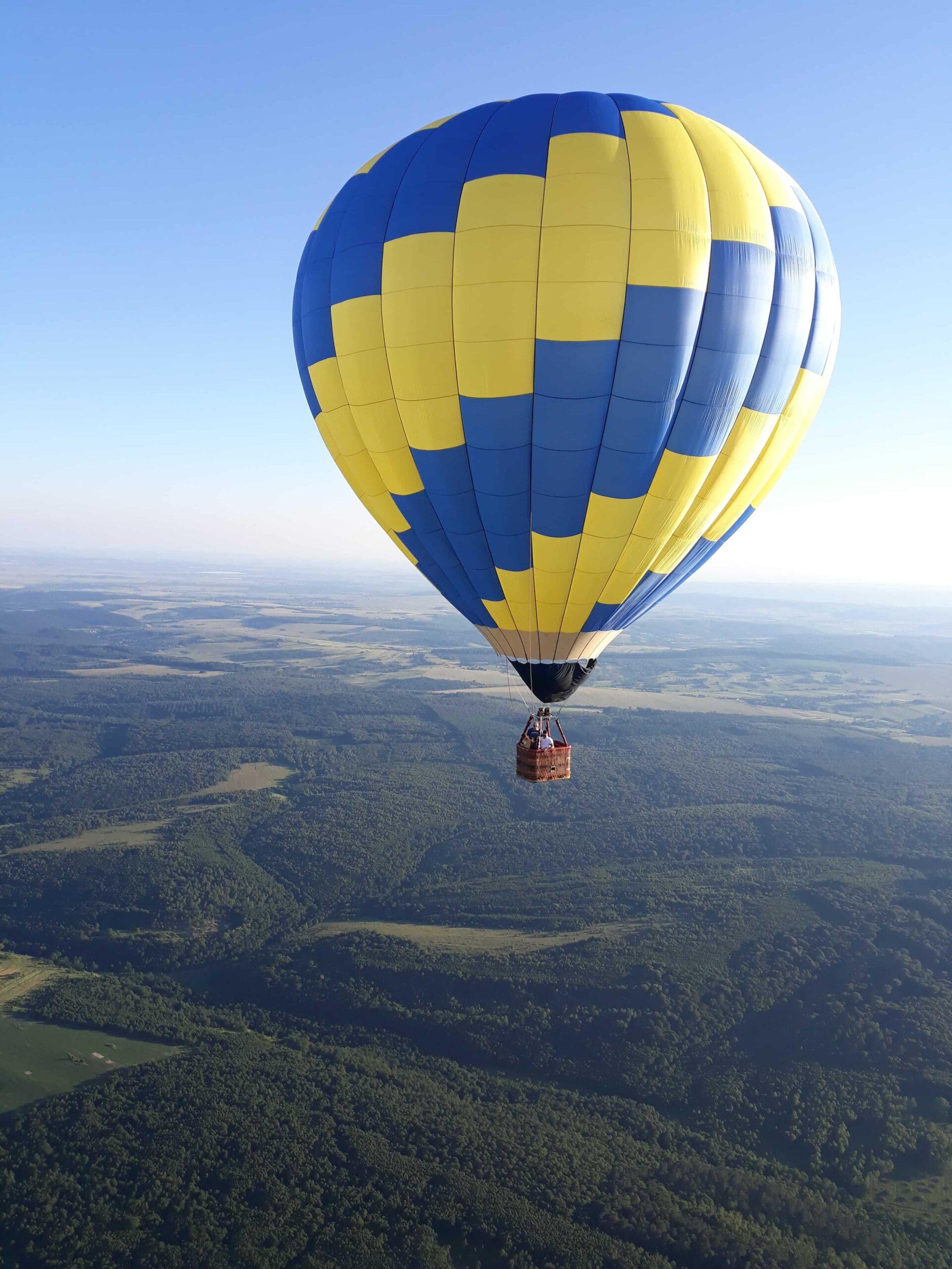 прогулянка на повітряній кулі в Мукачево