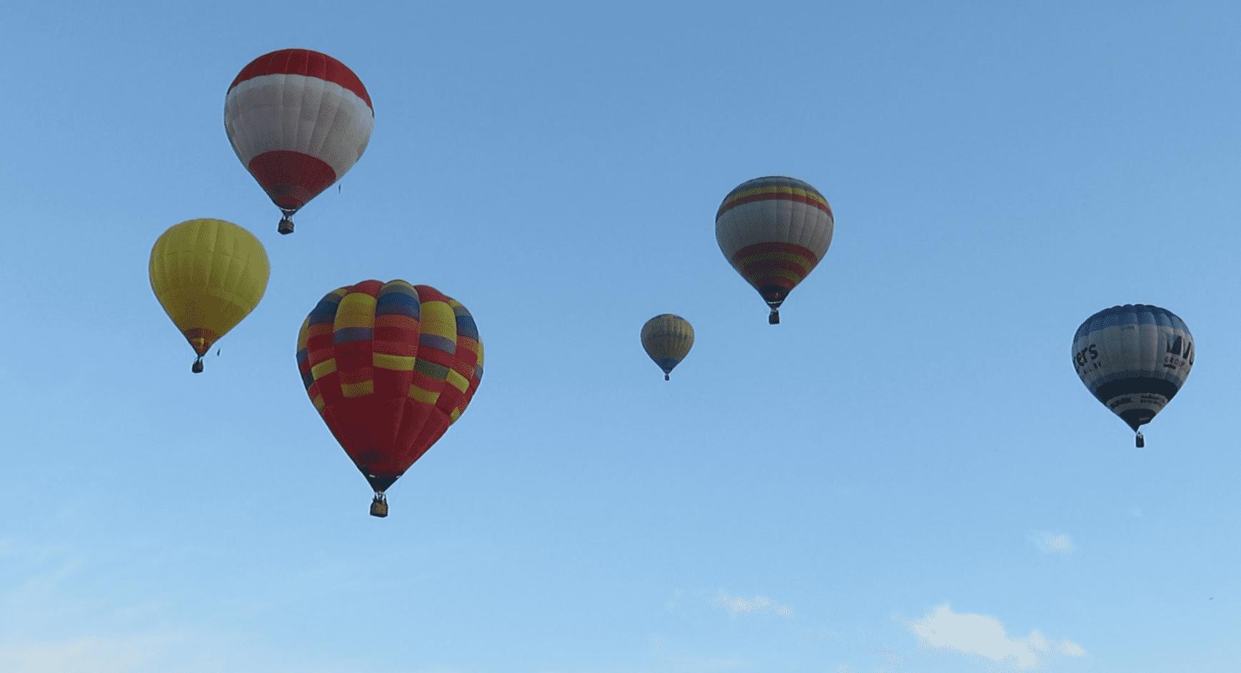 Політ на повітряній кулі в Корпоративний політ