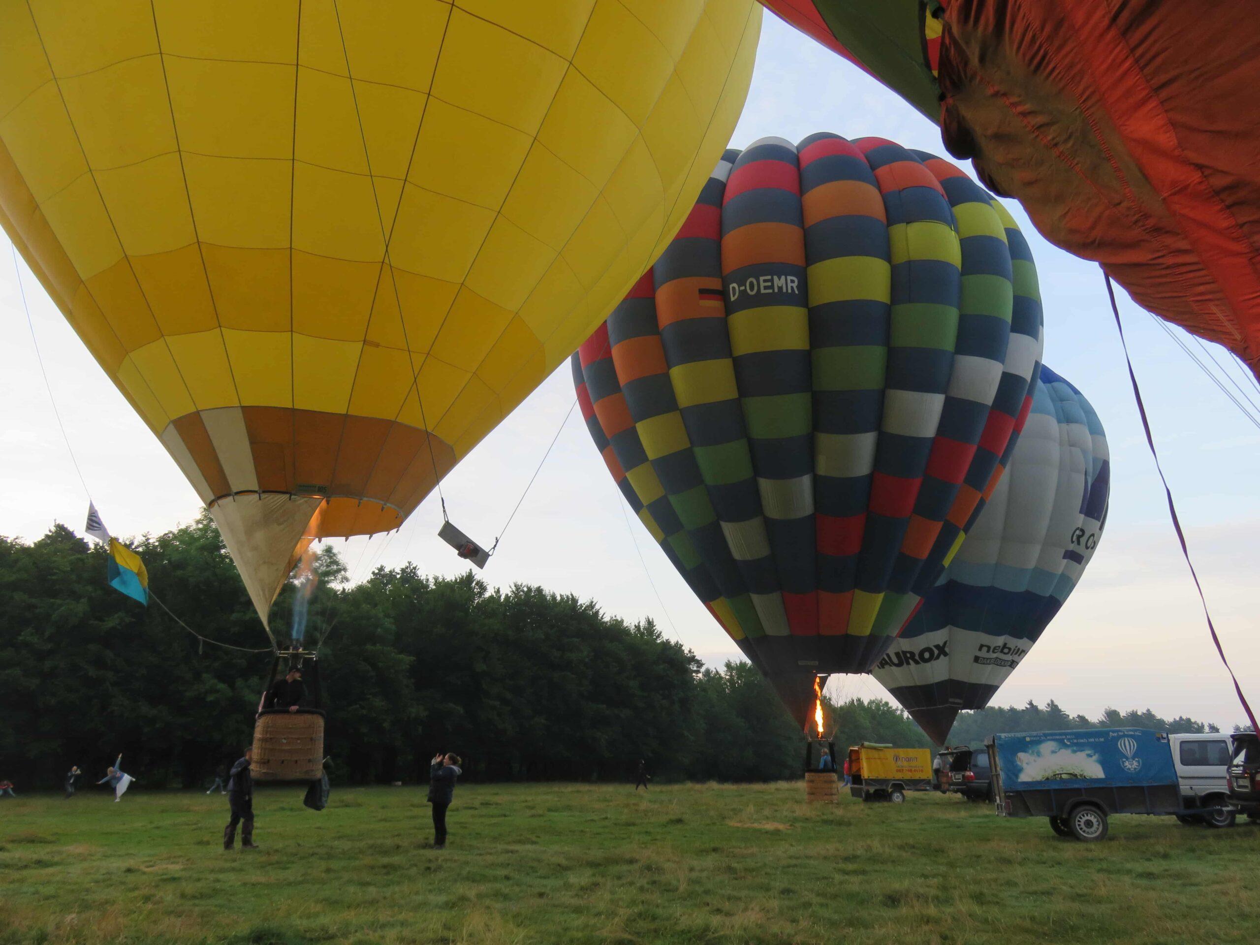 Корпоративный полет на воздушном шаре