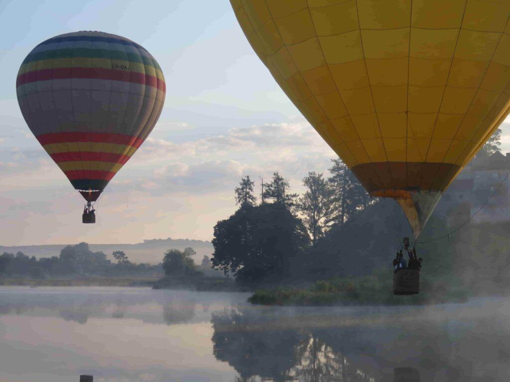 Фотографії на повітряних кулях