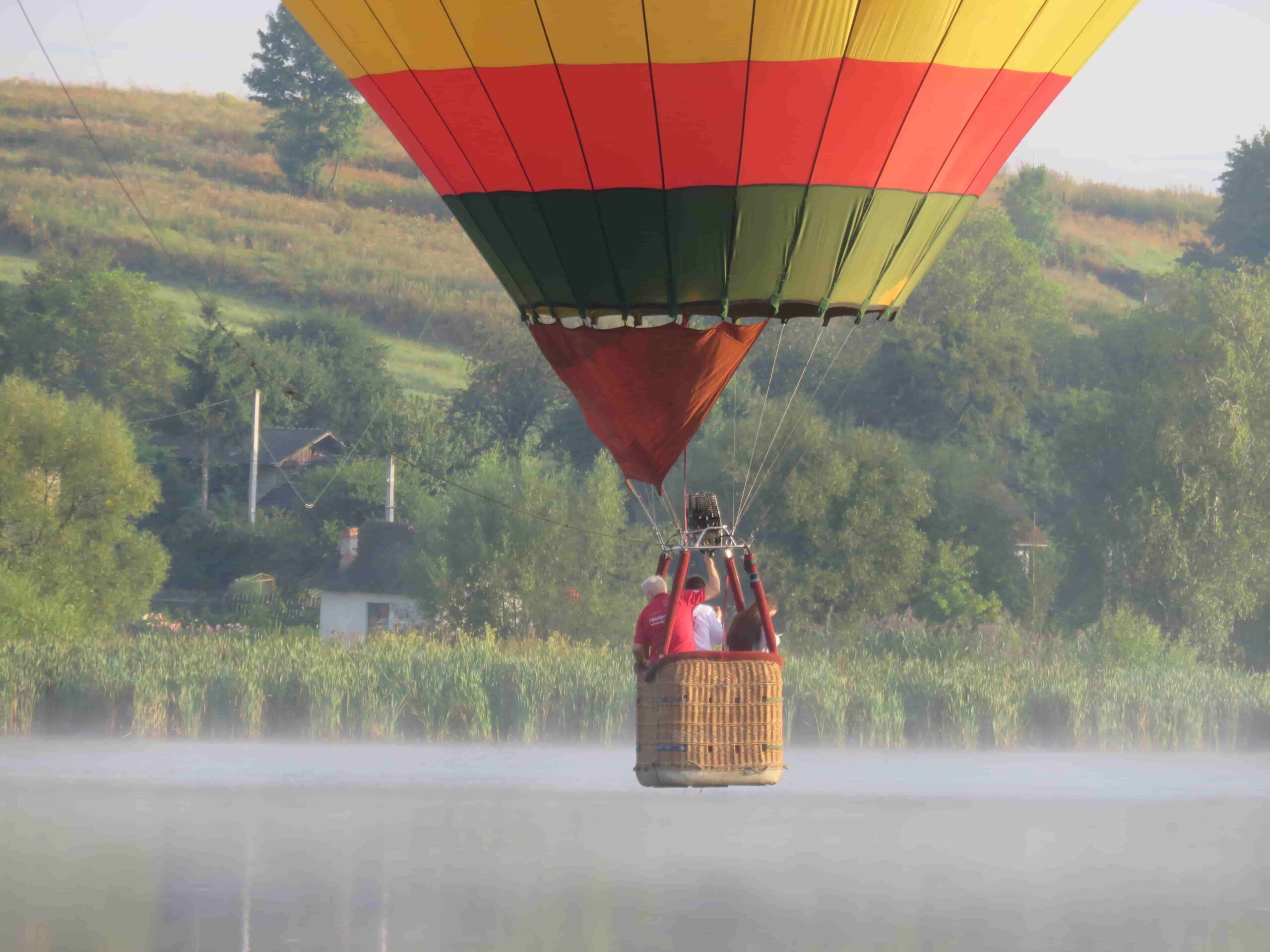 Групповой полет на воздушном шаре