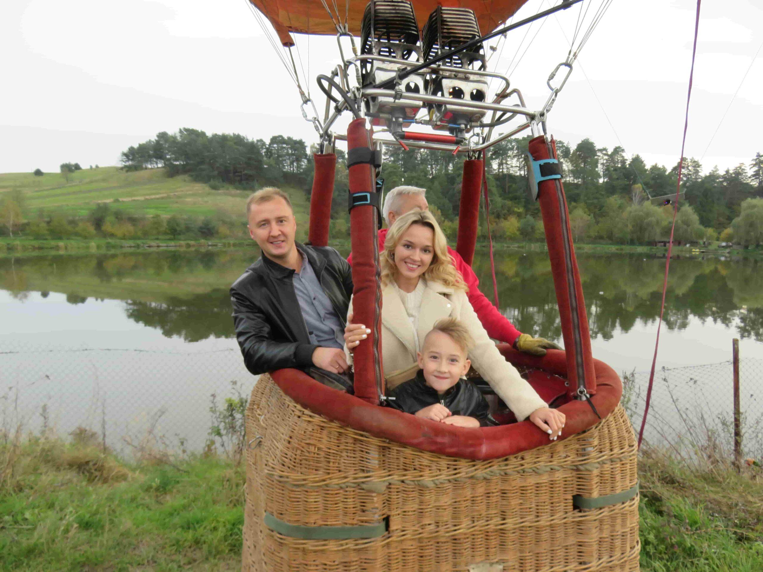 Полет на воздушном шаре в Групповой полет