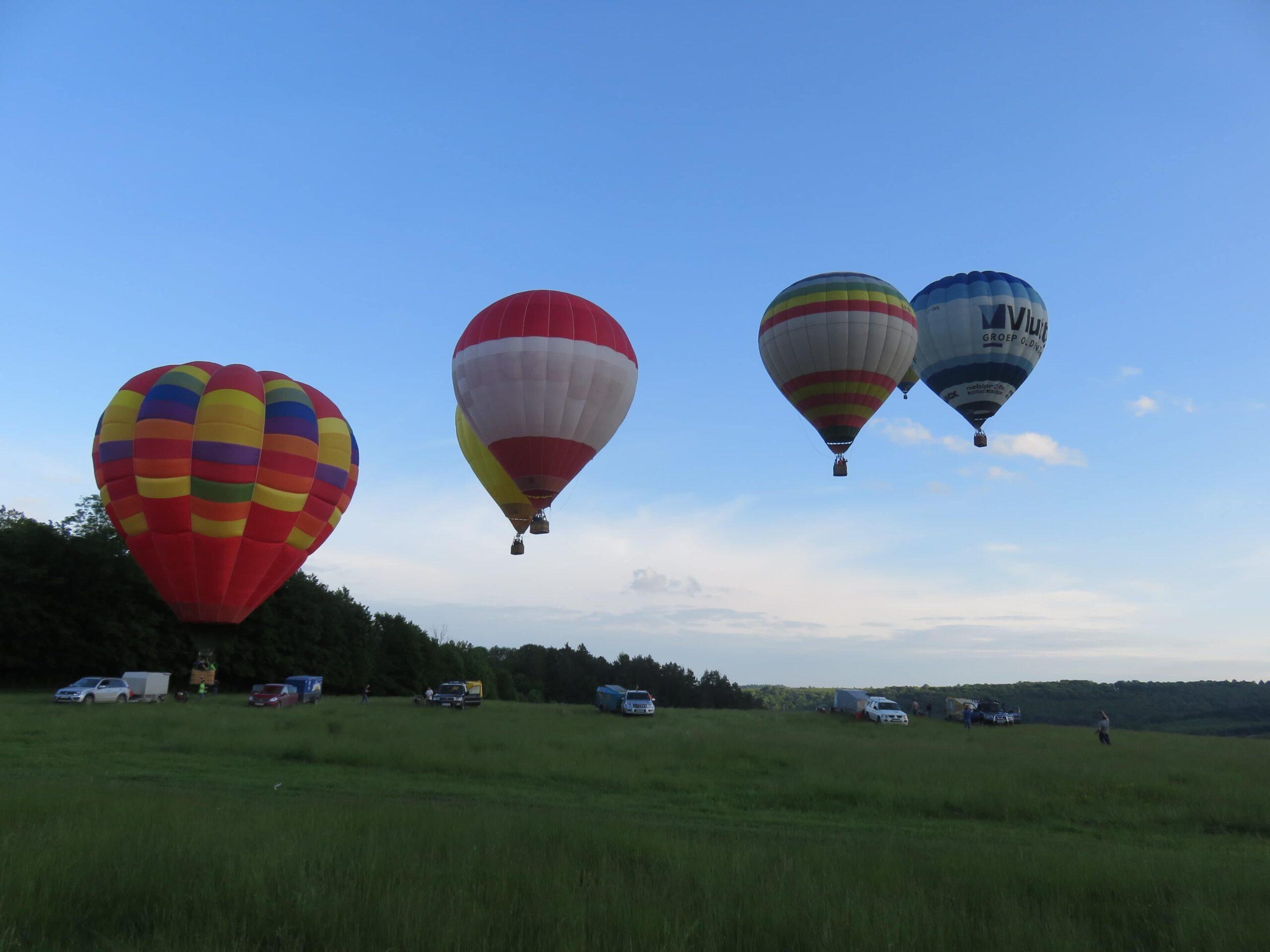 Політ на повітряній кулі в Мукачево