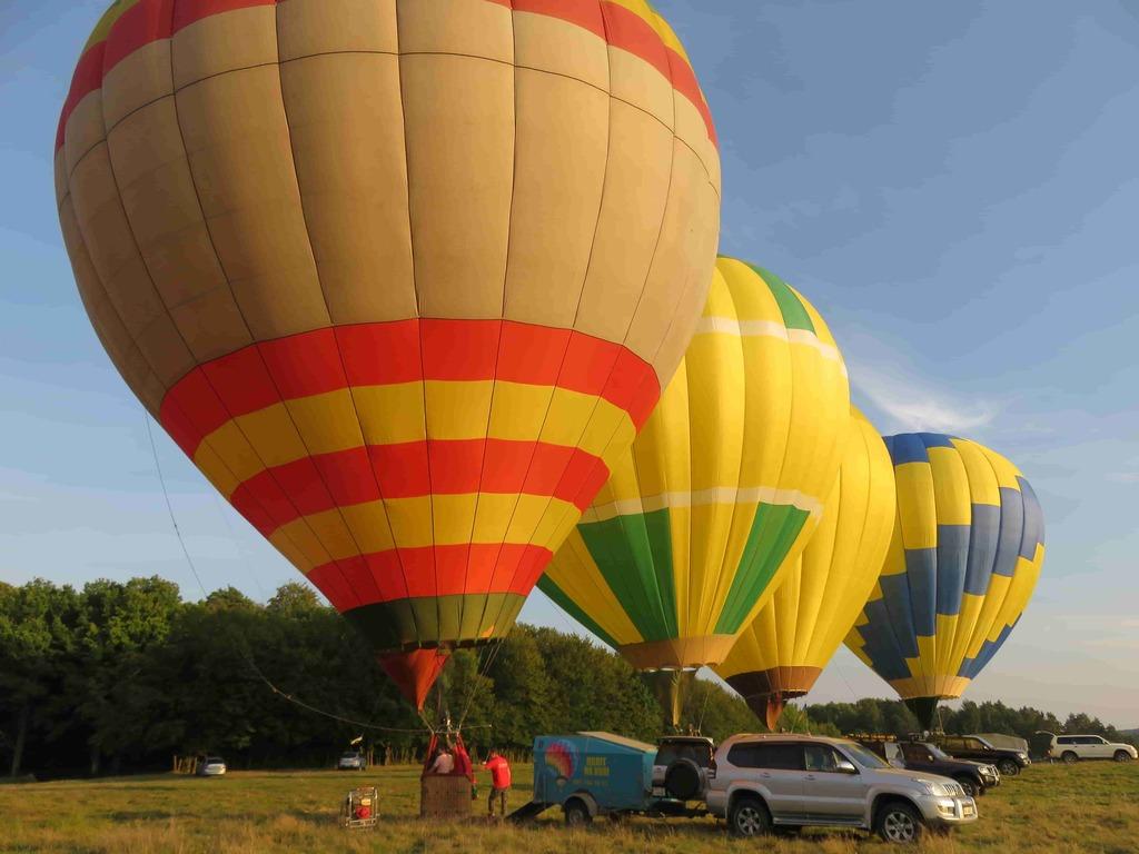 Полет на воздушном шаре в Предложение руки и сердца