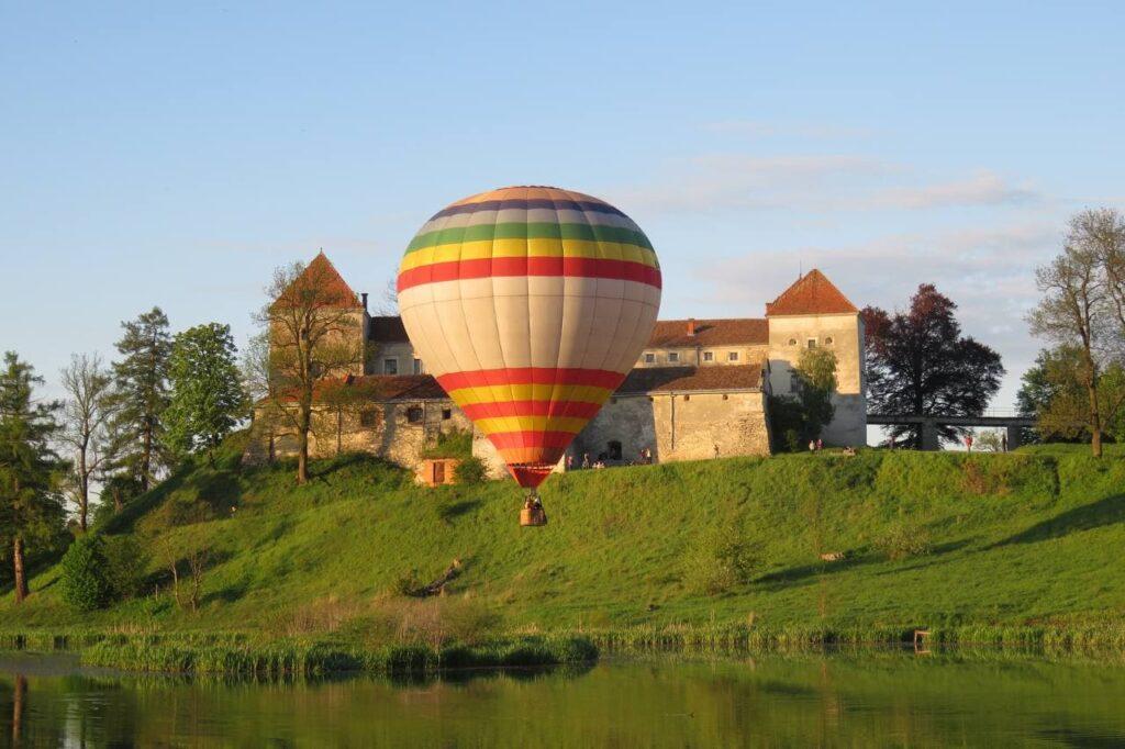 Фотографии на воздушных шарах
