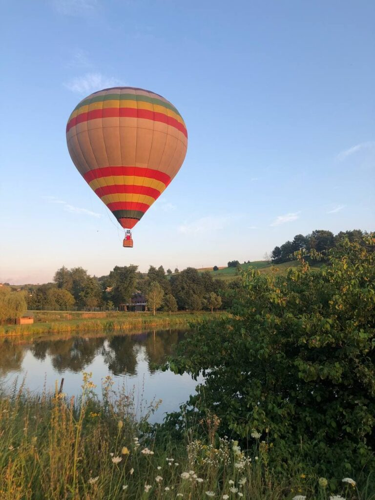 Полет на воздушном шаре в Фотографии на воздушных шарах