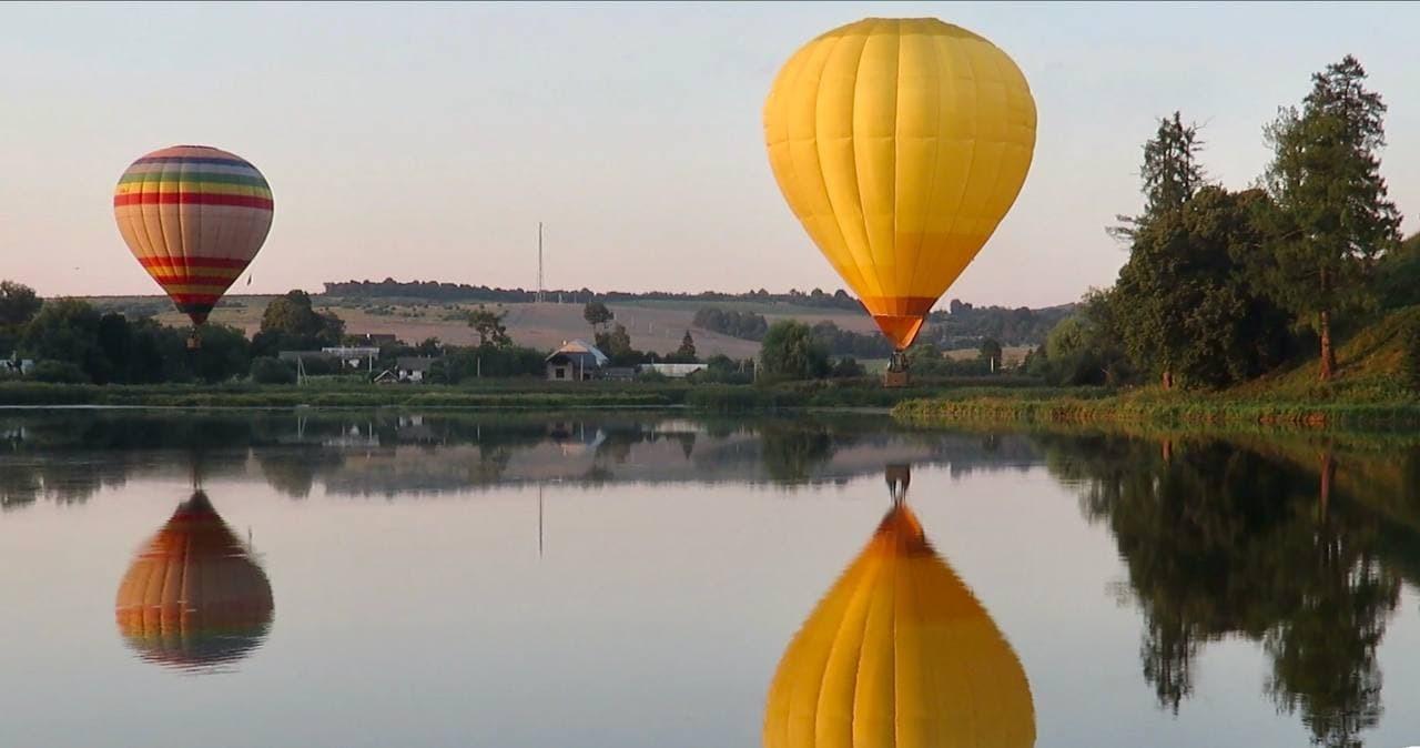 Полет на воздушном шаре в Свалява