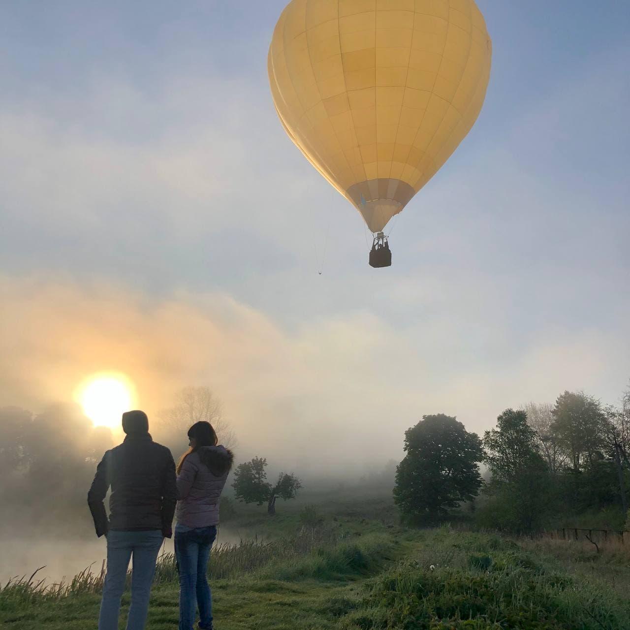 Полет на воздушном шаре в Полет для двоих
