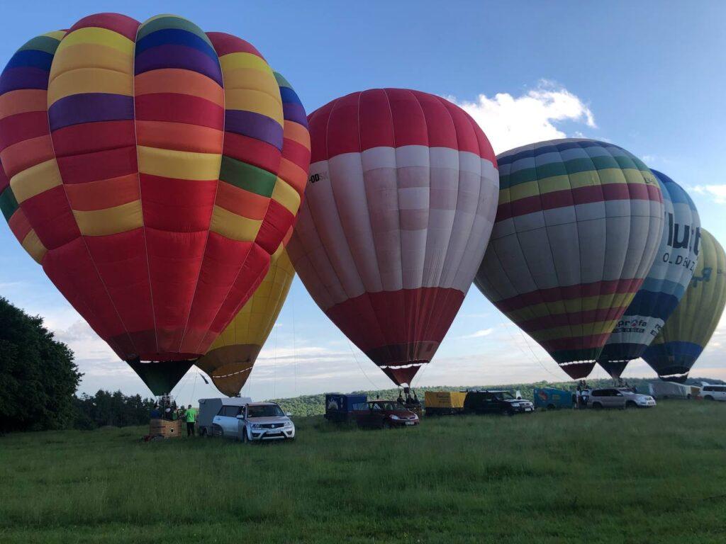 Фестиваль повітряних куль Львів