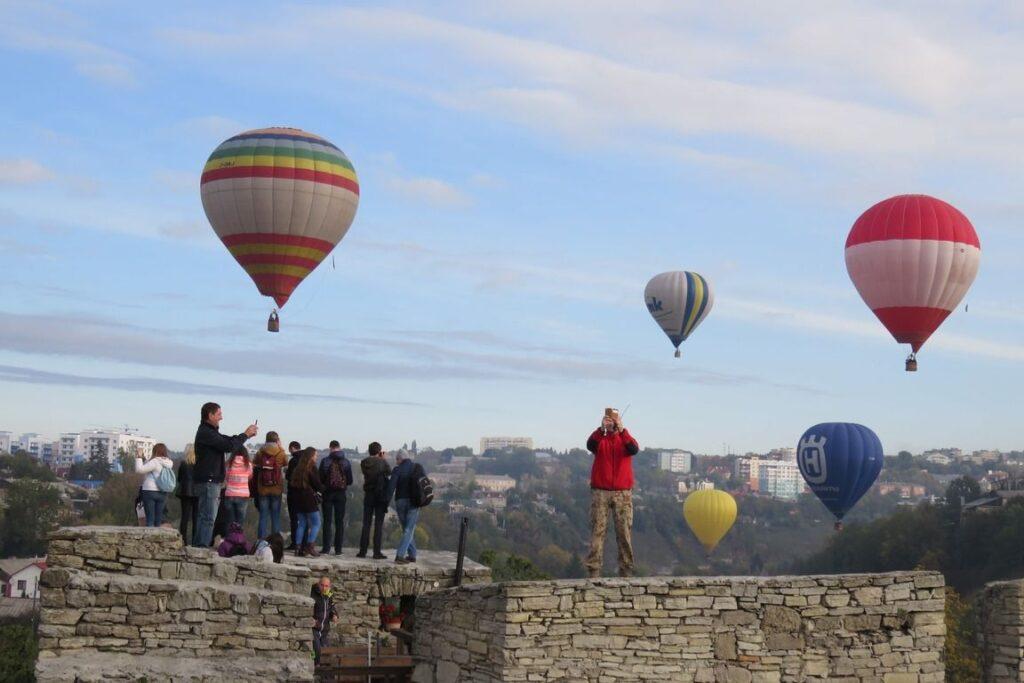 Фестиваль воздушных шаров Львов